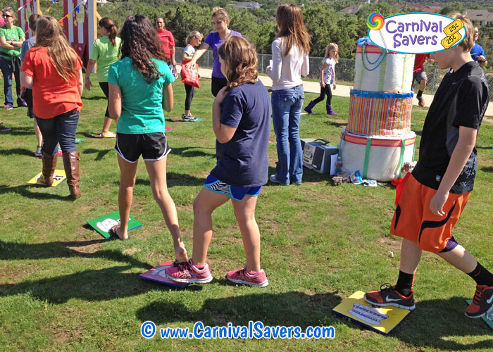 Carnival Game And Booth Ideas Cake Walk