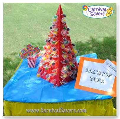 Carnival Game and Booth Ideas Lollipop Tree Carnival Game #2: carnival lipop tree idea