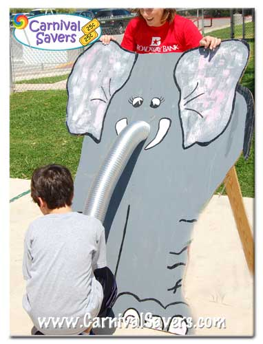 Feed the Elephant Carnival Game Elephant Games