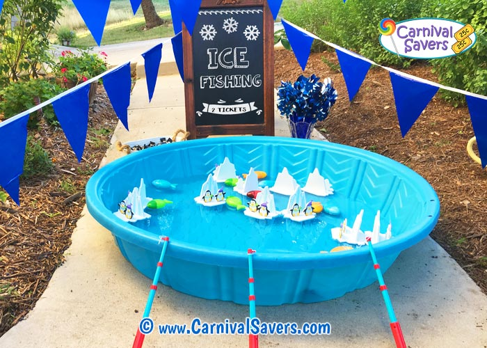 Ice fishing winter festival game for kids for Ice fishing games free