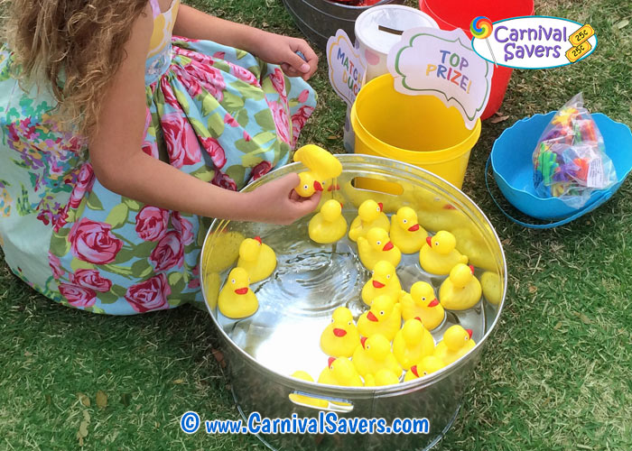 FREE Game Ideas Carnival Party Games Matching Ducks