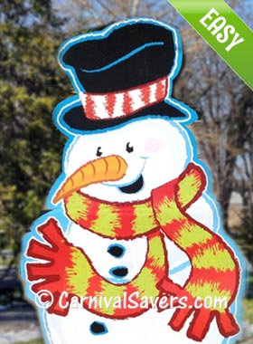 snowman sticky darts holiday game for kidsjpg
