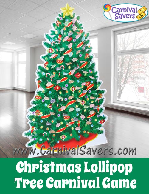 christmas lollipop tree carnival gamejpg - Christmas Tree Decoration Games