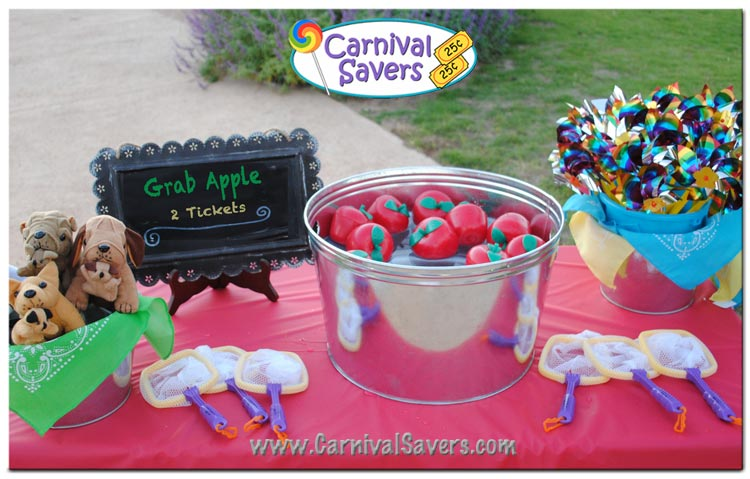 Grab Apple Fall Festival Game Idea Bobbing For Apples Alternative