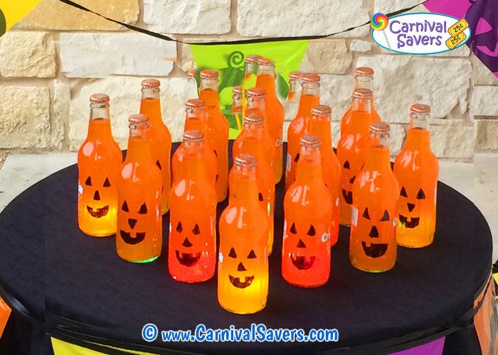 Diy Halloween Game Pumpkin Pop Ring Toss