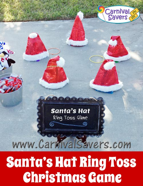 Christmas Games Ideas For A Party Part - 18: Santas-hat-ring-toss-christmas-party-game.jpg